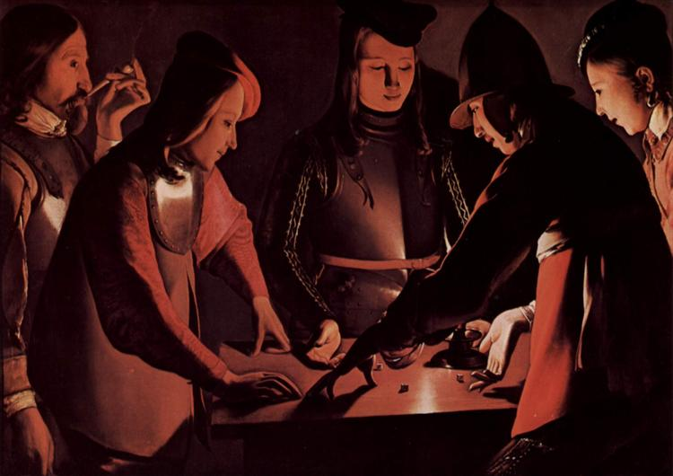 The Dice Players - Georges de la Tour