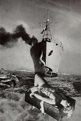 Five Minutes Later, the Boat in the Boat, 1969 - Georges Hugnet