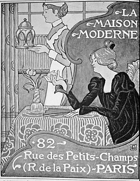Poster for La Maison Moderne, Paris - Georges Lemmen