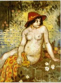 Young Bather - Жорж Леммен