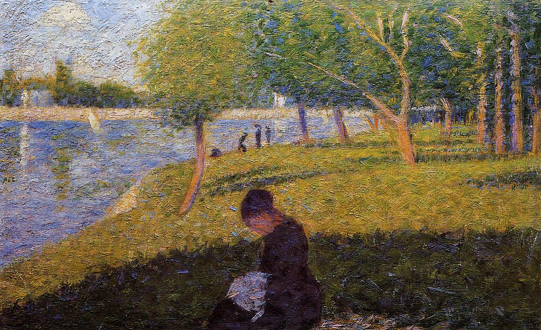 a sunday on la grande jatte Georges seurat sunday afternoon on the island of la grande jatte painting is  shipped worldwide,including stretched canvas and framed artthis georges.