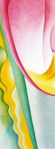 Abstraction No. 77 (Tulip), 1925 - Georgia O'Keeffe