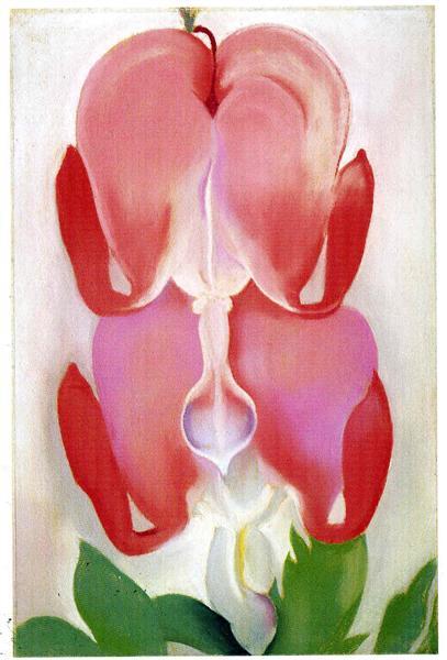 Bleeding Heart, 1932 - Georgia O'Keeffe