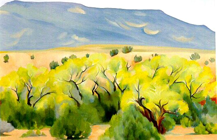 Cottonwood III, 1944 - Georgia O'Keeffe