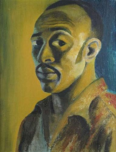 Self-portrait - Gerard Sekoto