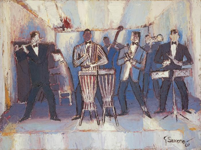 The Jazz Band, 1961 - Gerard Sekoto