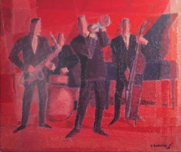 THE JAZZ BAND, 1965 - Джерард Секото