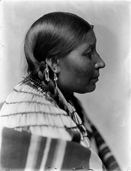 Wife of American Horse, Dakota Sioux - Gertrude Kasebier