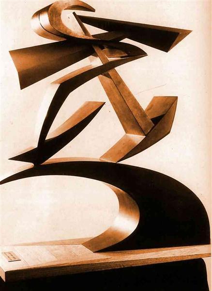 Dynamic of Boccioni's fist, c.1914 - Giacomo Balla