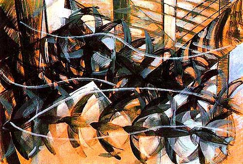 Flight of the Swallows, 1913 - Giacomo Balla