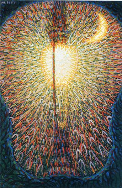 Street Light, 1909 - Giacomo Balla