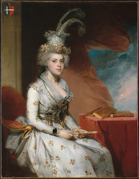 Matilda Stoughton de Jaudenes, 1794 - Gilbert Stuart