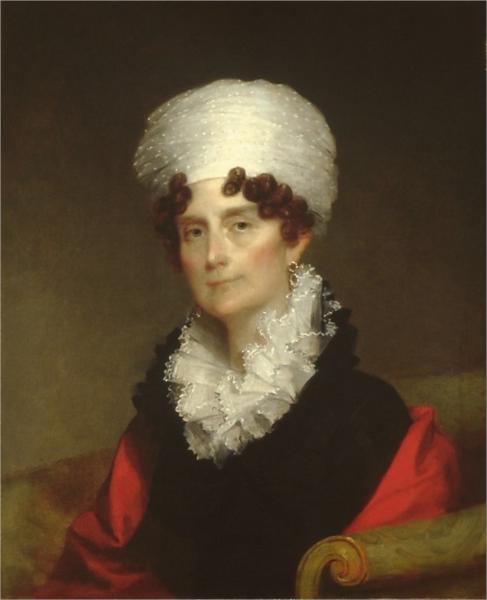 Mrs. Andrew Sigourney, 1820 - Gilbert Stuart