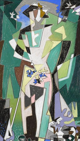 A spring, c.1952 - Gino Severini
