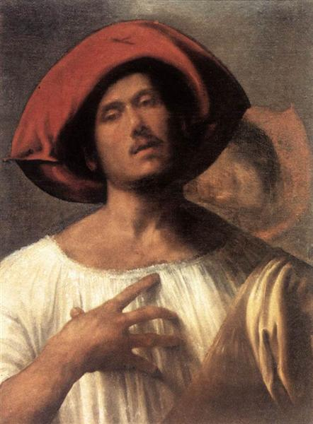 Young man (The impassioned singer), c.1510 - Giorgione