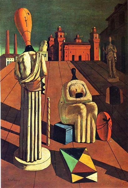 The Disquieting Muses, 1916 - 1918 - 乔治·德·基里科
