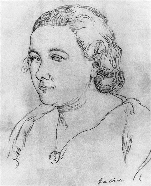Portrait of Graziella, 1934 - Giorgio de Chirico