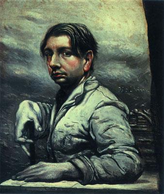 Self Portrait, c.1925 - Giorgio de Chirico