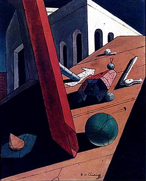 The Evil Genius of a King, 1915 - Giorgio de Chirico