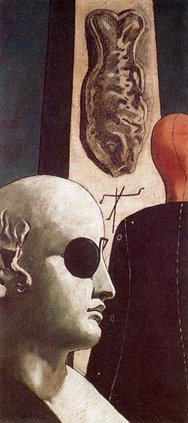 The Nostalgia of the Poet, 1914 - Giorgio de Chirico