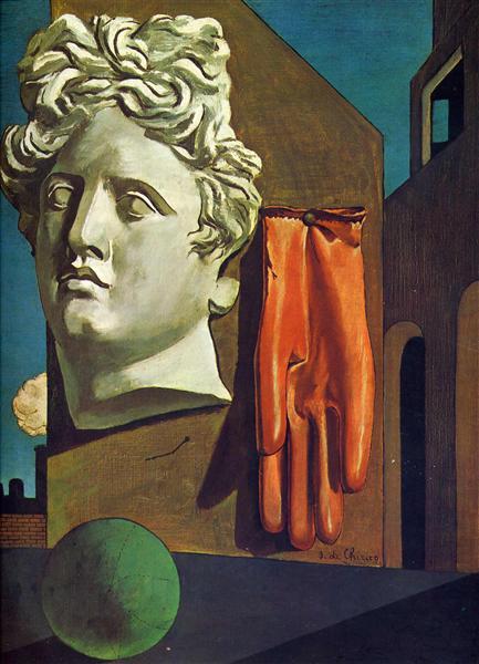 The Song of Love, 1914 - Giorgio de Chirico