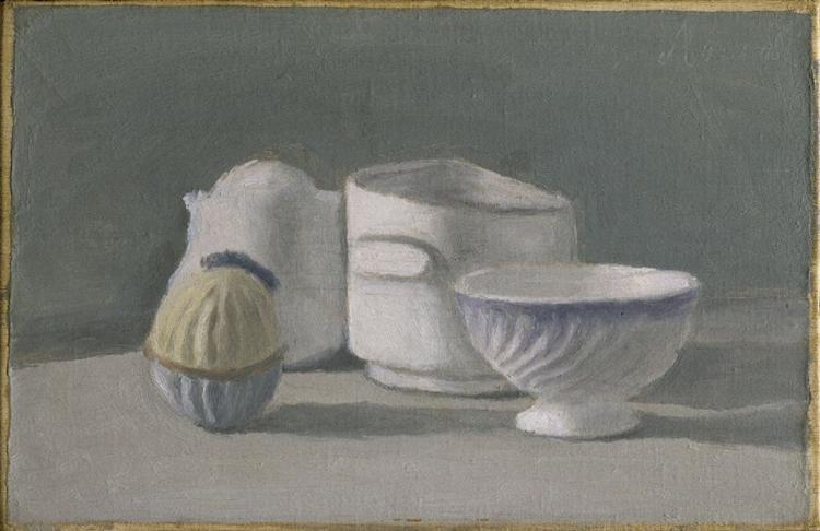 Still Life, 1943 - Giorgio Morandi