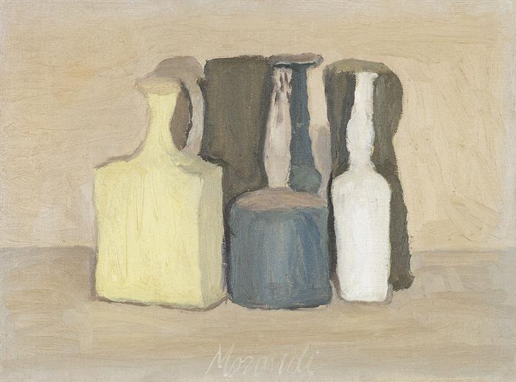 Still Life, 1949 - Giorgio Morandi