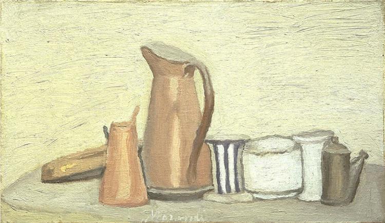 Still Life, 1951 - Giorgio Morandi