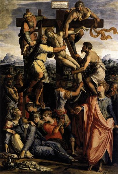 Deposition from the Cross, c.1540 - Giorgio Vasari