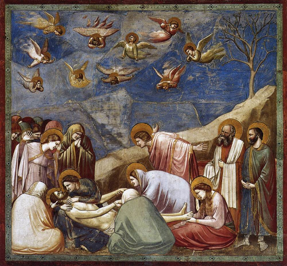 Giotto - Lamentation (The Morning of Christ),  Scrovegni Şapeli