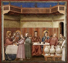 Marriage at Cana - Giotto