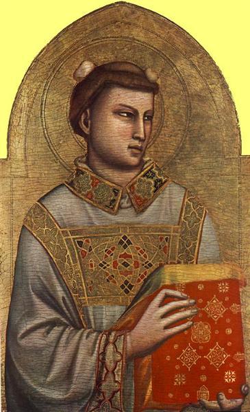 St. Stephen, c.1320 - 1325 - Giotto di Bondone