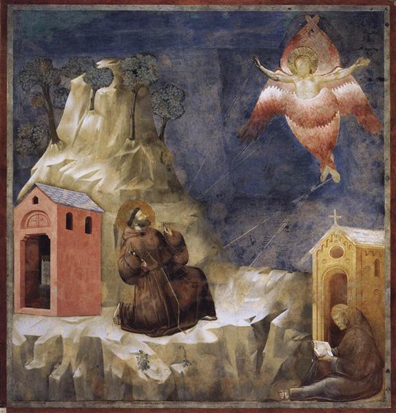 Stigmatization of St. Francis, 1297 - 1300 - Giotto