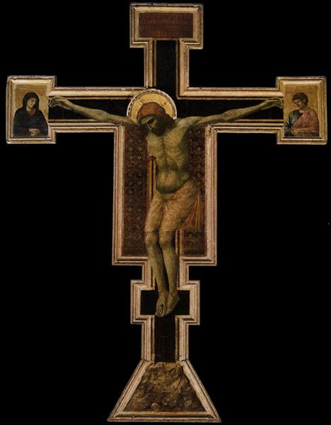 The Crucifixion, c.1290 - c.1300 - Giotto