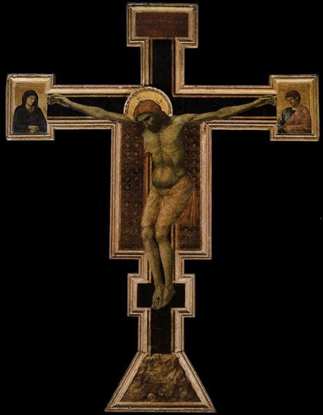 The Crucifixion, c.1290 - c.1300 - Giotto