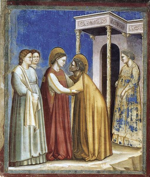 Visitation, 1306 - Giotto