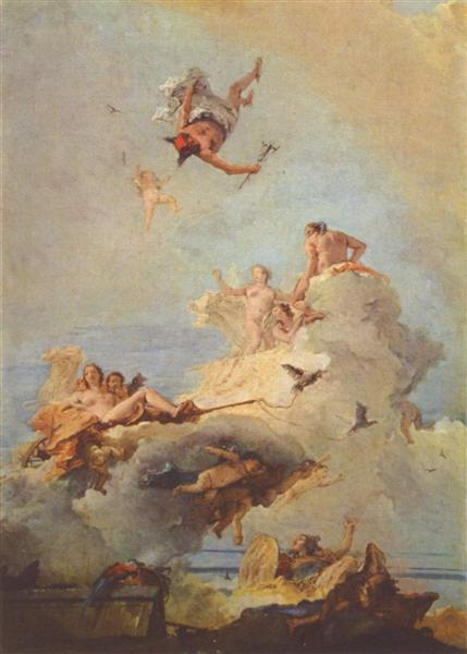 Olympus, 1761 - 1764 - Giovanni Battista Tiepolo