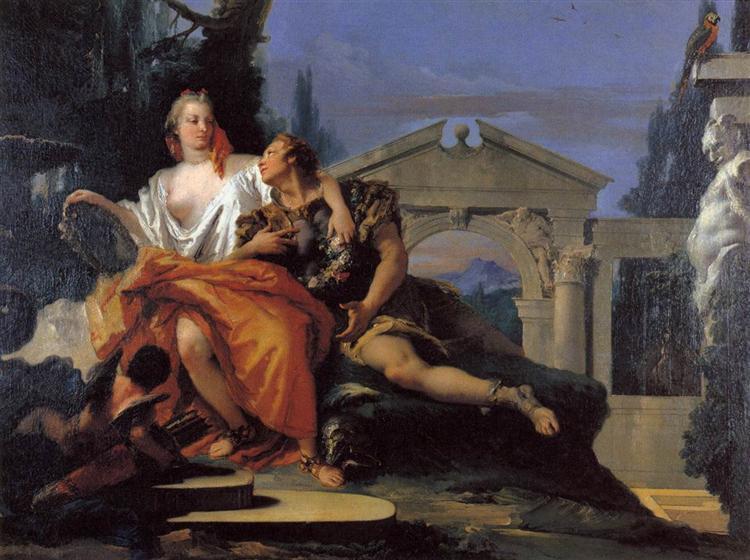 Rinaldo and Armida, 1753 - Giovanni Battista Tiepolo