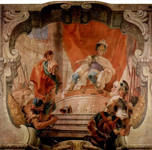 Scipio and a Slave, 1731 - Giovanni Battista Tiepolo