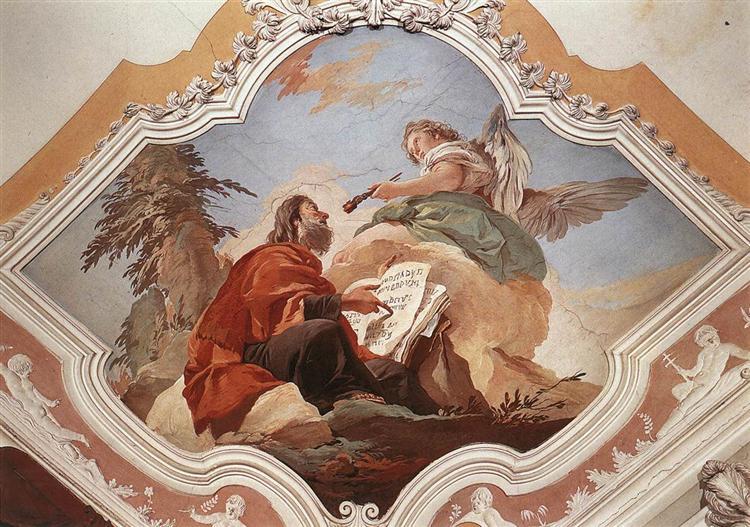 The Prophet Isaiah, 1726 - 1729 - Giovanni Battista Tiepolo