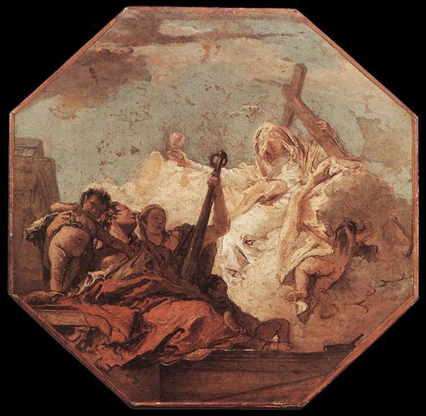 The Theological Virtues, c.1755 - Giovanni Battista Tiepolo