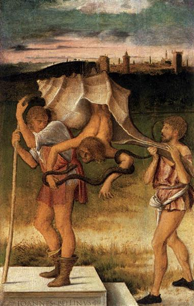 Four Allegories Falsehood (Wisdom), c.1490 - Giovanni Bellini