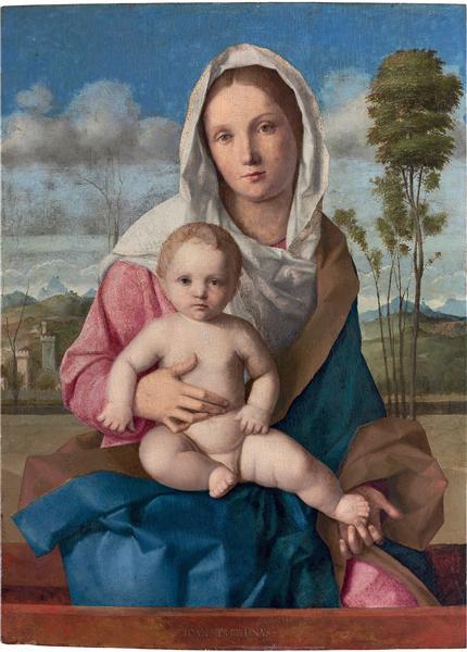 Madonna and Child in a landscape, 1508 - 喬凡尼·貝里尼