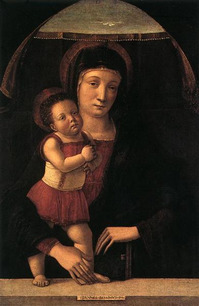 Madonna with Child, 1450 - 1455 - Giovanni Bellini