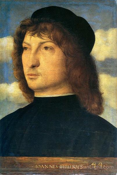 Portrait of a venetian gentleman, c.1500 - Giovanni Bellini
