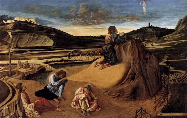 The Agony in the Garden, c.1459 - Giovanni Bellini