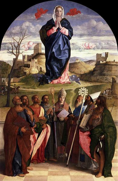 Virgin in Glory with Saints, 1510 - 1515 - Giovanni Bellini
