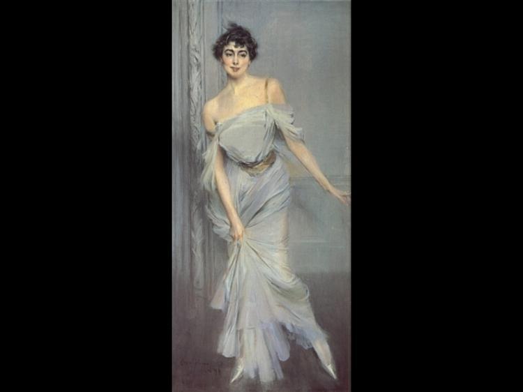 Madame Charles Max, 1896 - Giovanni Boldini
