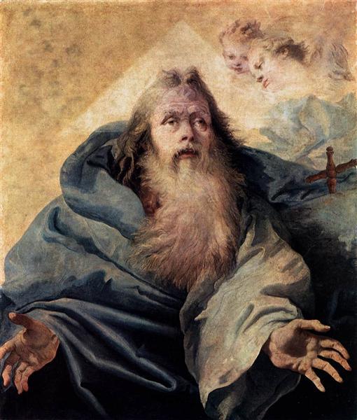 God the Father - Giovanni Domenico Tiepolo