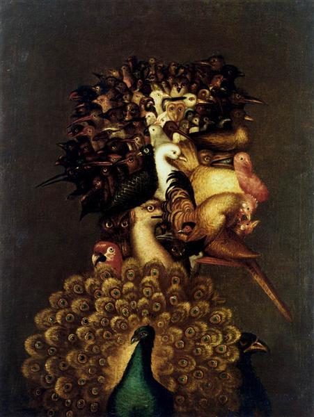 Air, 1566 - Giuseppe Arcimboldo